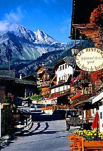 スイス:グリメンツとチナールの...